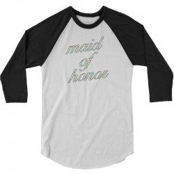 maid of honor flowers 3/4 Sleeve Shirt | Artistshot