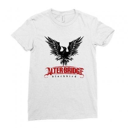 Alter Bridge Black Bird Music Vintage Ladies Fitted T-shirt Designed By Nurmasit1
