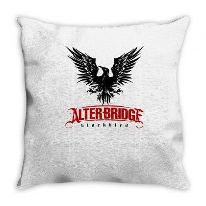 Alter Bridge Black Bird Music Vintage Throw Pillow Designed By Nurmasit1