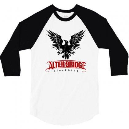 Alter Bridge Black Bird Music Vintage 3/4 Sleeve Shirt Designed By Nurmasit1