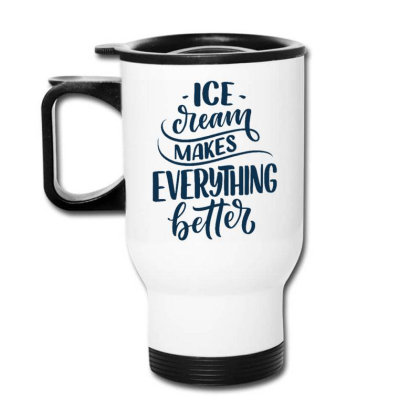 Ice Cream 4 Travel Mug Designed By Ndaart