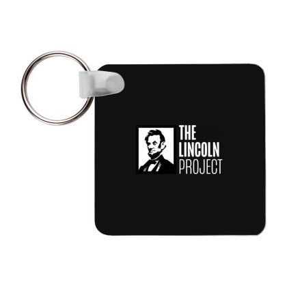The Lincoln Project Frp Square Keychain Designed By Loye771290