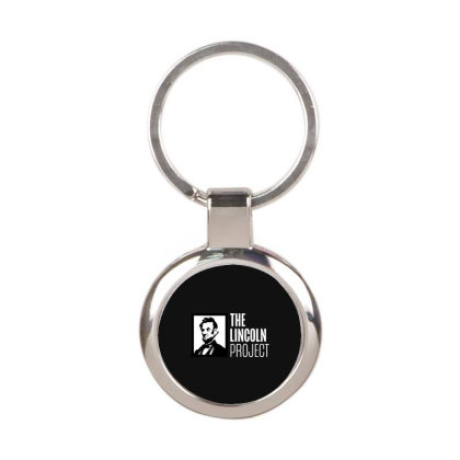 The Lincoln Project Round Keychain Designed By Loye771290