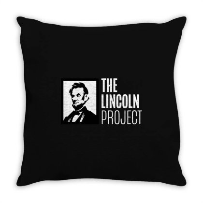 The Lincoln Project Throw Pillow Designed By Loye771290