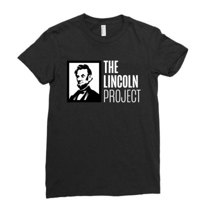 The Lincoln Project Ladies Fitted T-shirt Designed By Loye771290