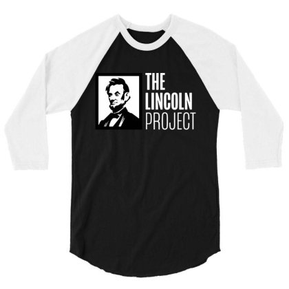 The Lincoln Project 3/4 Sleeve Shirt Designed By Loye771290