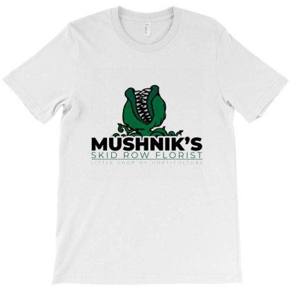 Mushnik's Skid Row Florist T-shirt Designed By Mendoz
