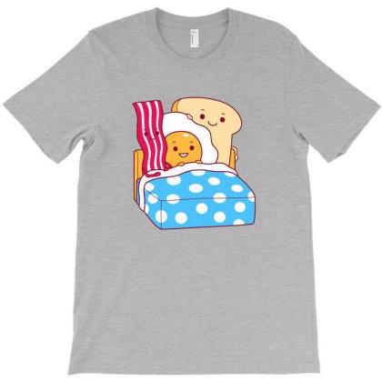 Breakfast In Bed T-shirt Designed By Dyarez