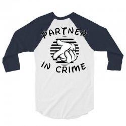 partner in crime 3/4 Sleeve Shirt   Artistshot