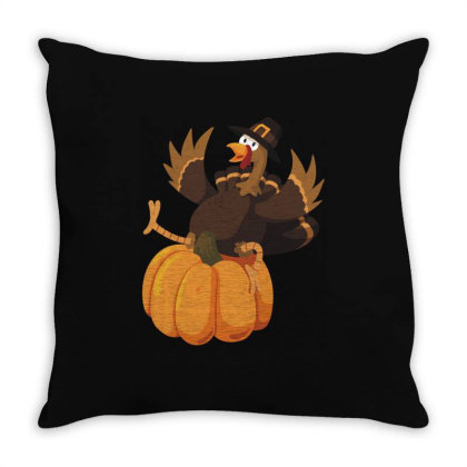 Thanksgiving Day Throw Pillow Designed By Coşkun