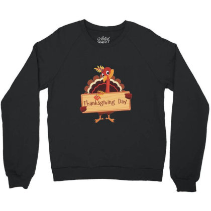 Thanksgiving Day Crewneck Sweatshirt Designed By Coşkun
