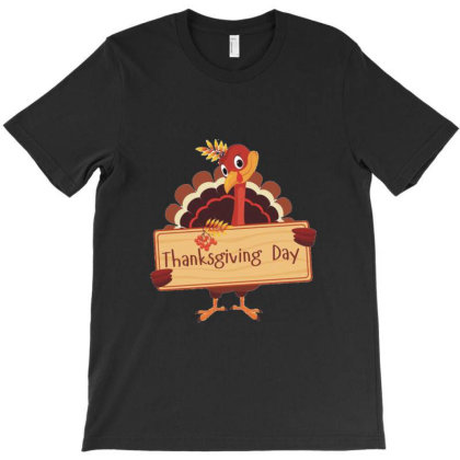 Thanksgiving Day T-shirt Designed By Coşkun