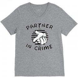 partner in crime V-Neck Tee   Artistshot