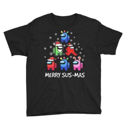 Among Us Santa Merry Sus Mas Christmas Youth Tee Designed By Kakashop