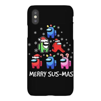 Among Us Santa Merry Sus Mas Christmas Iphonex Case Designed By Kakashop