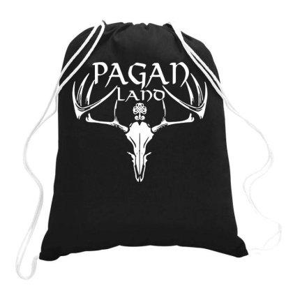 Pegan Land Drawstring Bags Designed By Ismi