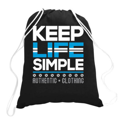 Kepp Life Simple Drawstring Bags Designed By Ndaart