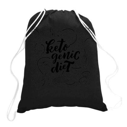 Keto Genic Diet Drawstring Bags Designed By Ndaart