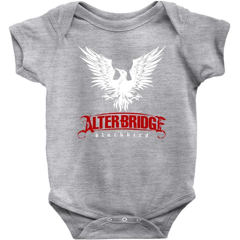 Alter Bridge Black Bird Music Vintage,,,, Baby Bodysuit | Artistshot