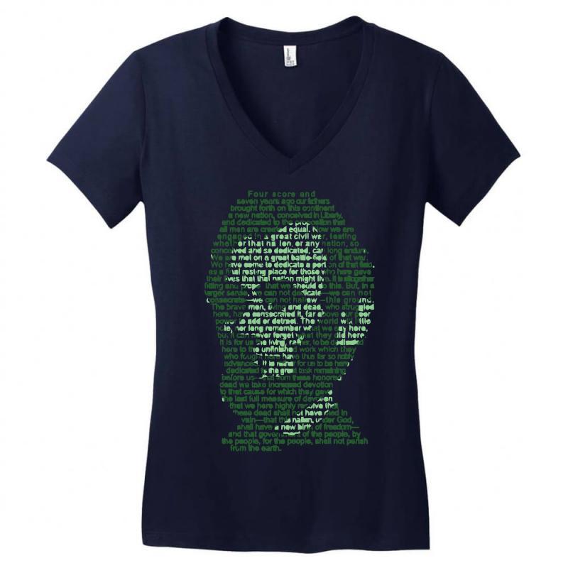Gettysburg Address Women's V-neck T-shirt | Artistshot