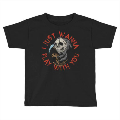 Little Death On Toy Horse Toddler T-shirt Designed By Ndaart