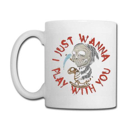 Little Death On Toy Horse Coffee Mug Designed By Ndaart