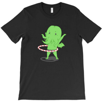 Cthulhu Hoop T-shirt Designed By Marshal