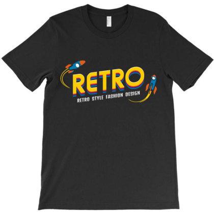 Retro Style Fashion Design T-shirt Designed By Designisfun
