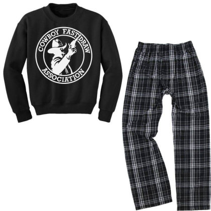 Cowboy Youth Sweatshirt Pajama Set Designed By Michael Store