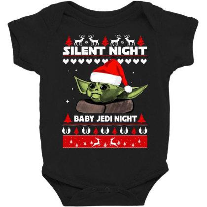 Baby Yoda Jedi Night Christmas Baby Bodysuit