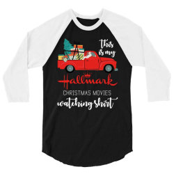 this is my hallmark christmas movies watching 3/4 Sleeve Shirt | Artistshot