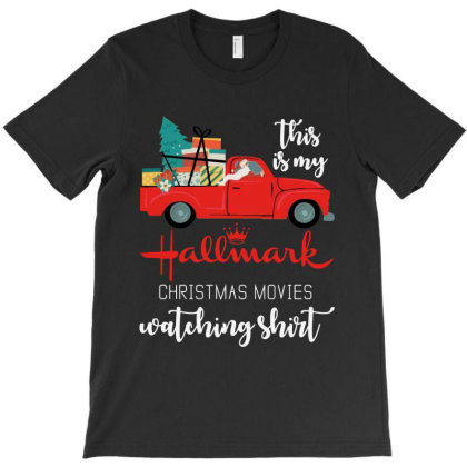 This Is My Hallmark Christmas Movies Watching T-shirt Designed By Barbara Apparel