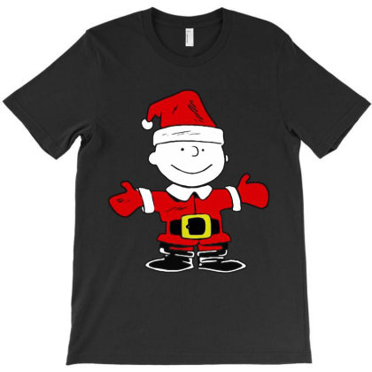 Charlie Santa Christmas Funny T-shirt Designed By Barbara Apparel