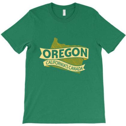 Oregon California's Canada T-shirt Designed By Hilmorera