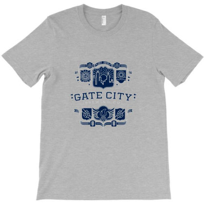 Gate City Brewing Co Roswell Tee T-shirt Designed By Mathers
