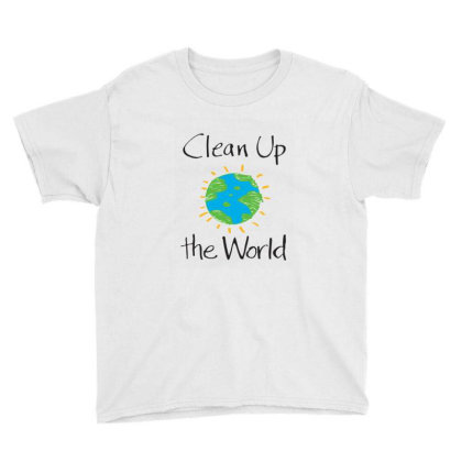 Clean Up The World Youth Tee Designed By Coşkun