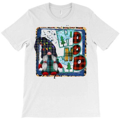 Ho Ho Ho Gnome T-shirt Designed By Badaudesign