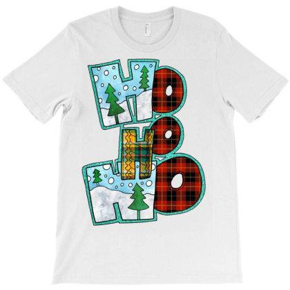 Ho Ho Ho Christmas T-shirt Designed By Badaudesign