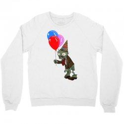 happy birthday plants vs zombies zombie Crewneck Sweatshirt | Artistshot