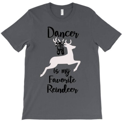 Ballet Dancer Is My Favorite Reindeer Christmas T-shirt Designed By Hoainv