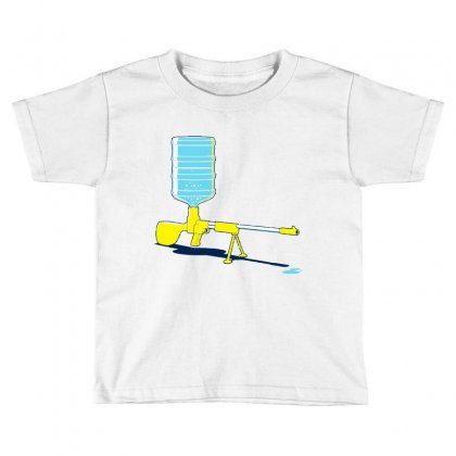 Heavy Firepower Toddler T-shirt Designed By Mdk Art
