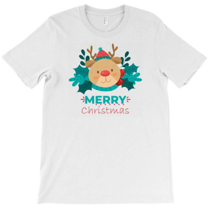 Merry Christmas T-shirt Designed By Tutastedesign