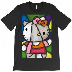 hello picasso kitty T-Shirt | Artistshot