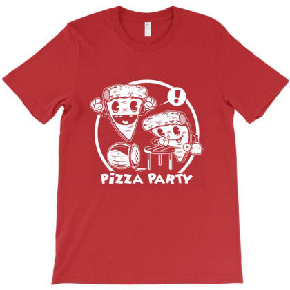 Pizza Party T-shirt Designed By Rebecca