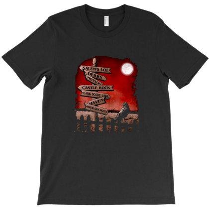 Horror Crossroads T-shirt Designed By Kahans