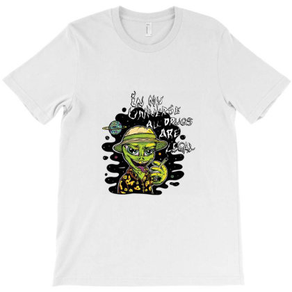 In My Universe T-shirt Designed By Kahans