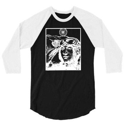 Kamikaze Japan Ww2 Funny 3/4 Sleeve Shirt Designed By Lyly