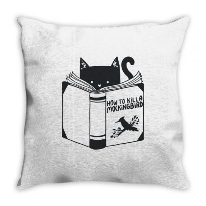 How To Kill A Mockingbird Throw Pillow Designed By Mdk Art