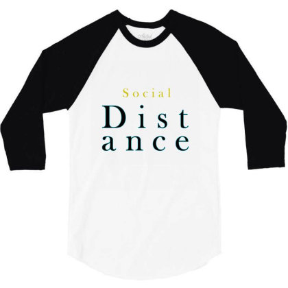 Distance 3/4 Sleeve Shirt Designed By Chiks
