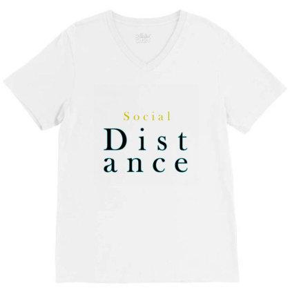 Distance V-neck Tee Designed By Chiks